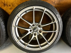 "18"" OZ Racing Leggera HLT w/ Michelin PSS"