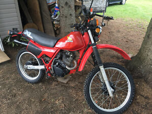 Completly restored Honda XL 200R Dual Sport (On Hold)