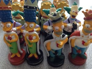 2002 Simpsons chess pieces Gatineau Ottawa / Gatineau Area image 1
