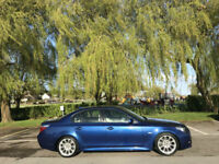 2007 BMW 525 2.5 Turbo Diesel M-Sport Auto 4 Door Saloon Blue