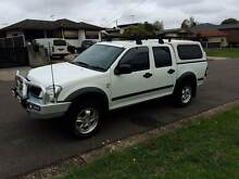 2006 Holden Rodeo Automatic Ute Dual cab Tow bar Fog Lights Mount Druitt Blacktown Area Preview