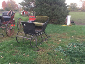Horse drawn cutter for sale