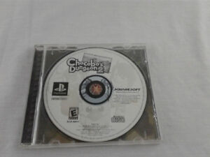Chocobo's Dungeon 2 Playstation 1 Ps1 Black Label no manual