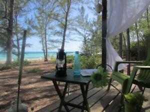 Expérience unique, chamante tiny house sur la plage des caraïbes
