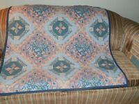 HAND CRAFTED LAP QUILT - NEW