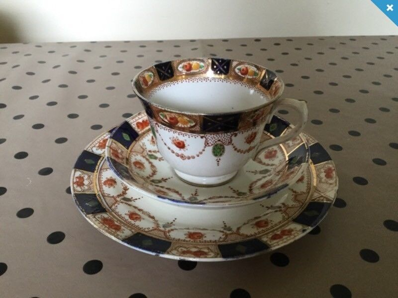 Warwick Beswick & Sons china cup, saucer & side plate 1920's vintage | in  Carryduff, Belfast | Gumtree