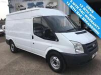 2008 08 FORD TRANSIT 2.2 350 MWB MEDIUM ROOF 110BHP T350 FSH DIESEL