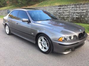 BMW 530I M/PACKAGE 2002 ( !! MANUEL, TRES RARE, AUCUNE TAX !! )