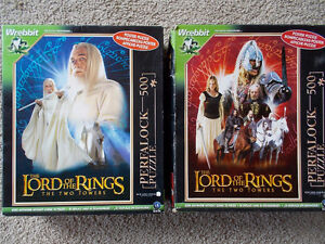 """Large Wrebbit Perfalock Puzzles- """"Lord of The Rings"""""""