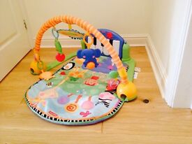 Fisher Price Musical kick play piano gym