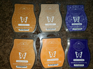 6 scentsy bar $20 for all