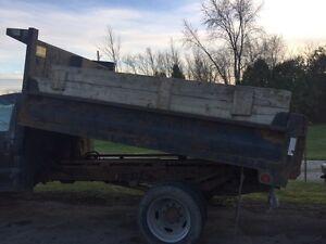 Dump truck box 8' x 11'