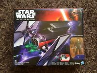 Star Wars boxed tie fighter, unopened toy