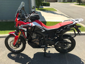 2017 Africa Twin Manual - Ready for Exploring!