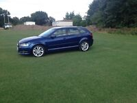 Audi A3 2ltr diesel sport 6 speed car £6000 cash or px wanted