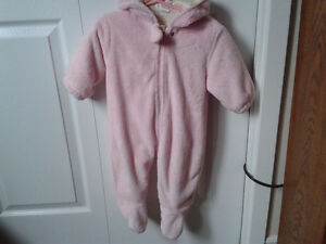 BABY GIRL'S OUTERWEAR- Pink- 6-9m.