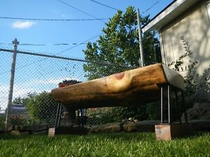 Log Benches - Pine - $399.00 each Cambridge Kitchener Area image 8