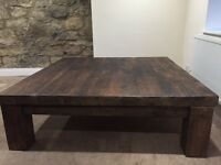 Extra large solid wood coffee table REDUCED