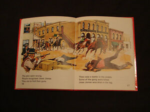 JESSE JAMES THE OUTLAW very Rare childrens Hardcover collectible Belleville Belleville Area image 5