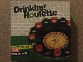 Drinking Roulette game unopened