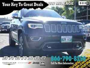 2017 Jeep Grand Cherokee Overland - Navigation