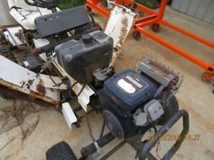 Lawnmower National reel mower 84'' cut runs