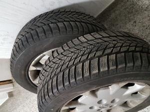 215/55/R16  Winter Tires