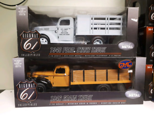 Highway 61 DCP 1940 Ford Stake and 1946 GMC Grain trucks