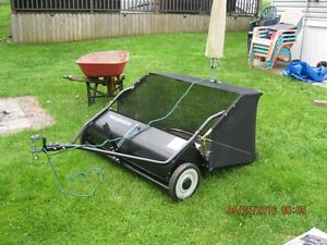 Brand new tow behind lawn sweeper