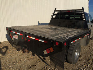 One Ton Dually Flat Deck
