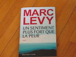 MARC LEVY/  UN  SENTIMENT PLUS FORT QUE LA PEUR