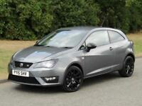 2015 Seat Ibiza 1.4 TSI ACT FR Black Edition 6 Speed Manual 3 Door Hatchback 140