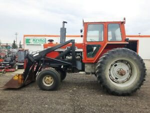 MASSEY FERGUSON 1155 TRACTOR WITH LOADER