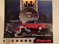 New 2000 SNAPSHOTS Millenium Edition 12 Month SNAP-ON Car CALEND