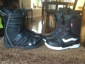 YES 120 cm Snowboard, bindings and boots Kitchener / Waterloo Kitchener Area image 3