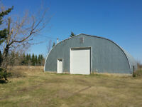 House, with Quonset SHOP in Acheson Industrial Park