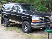 Ford Bronco Project for Sale