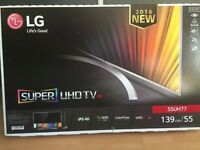 "LG super ULTRAHD 55"" led tv"