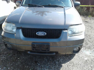 PARTS AVAILABLE FOR A 2006 FORD ESCAPE