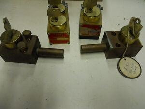 BRASS LOCK OUTS