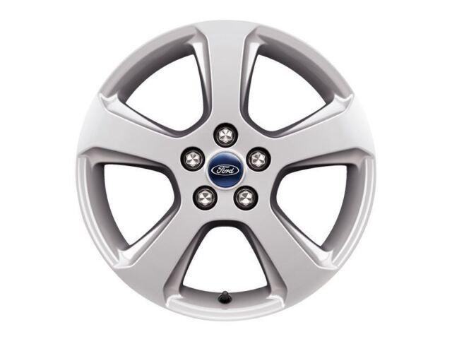 """Ford S-Max 2015> Single Alloy wheel 17"""" 5-Spoke Design, Sparkle Silver 1889414"""