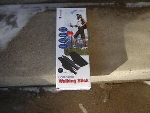 VELOCITY COLLAPSIBLE WALKING STICK(IN BOX)