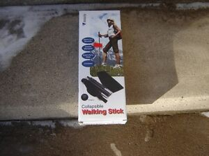 VELOCITY COLLAPSIBLE WALKING STICK(IN BOX) London Ontario image 1