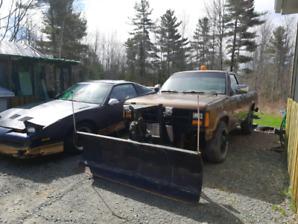 Dodge Dakota 4X4 with Western Plow For Sale