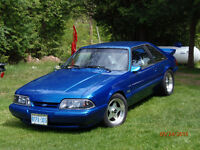 1989 Mustang 5 ltr.  5 speed.  $8300.