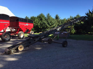 35' Corn elevator / Drag conveyor