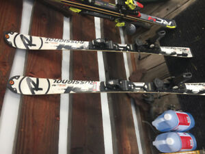 Rossignol Radical World Cup Pro skis, S. 132, Ross Race Bindings