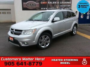 2014 Dodge Journey Limited  V6 7-PASS HS HTD-S/W P/SEAT REAR-AC