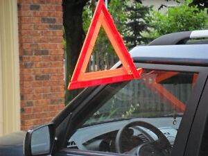 Safety Triangle Reflectors