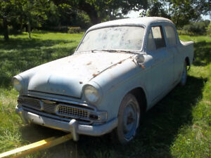 BARN FIND   1960 HILLMAN MINX AUTOMATIC 28000 ORIGINAL MILES